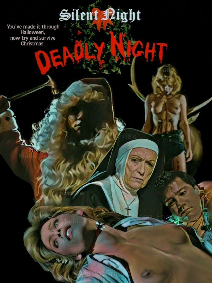 Silent Night Deadly Night 1984 Horror Movie Slasher Fan Made Edit By Mario. Frías