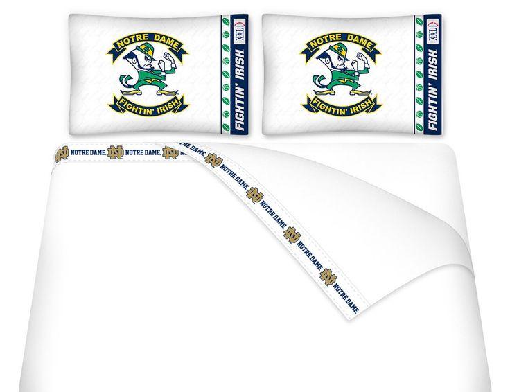 Notre Dame Fighting Irish Sheet Set