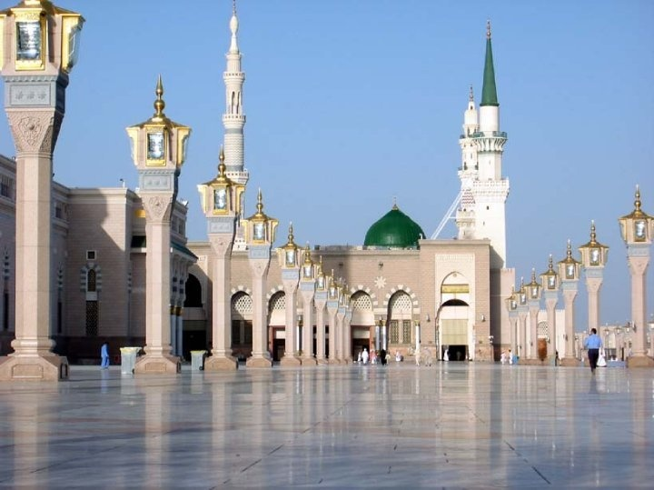 The Prophet's Muhammad Mosque, Medina