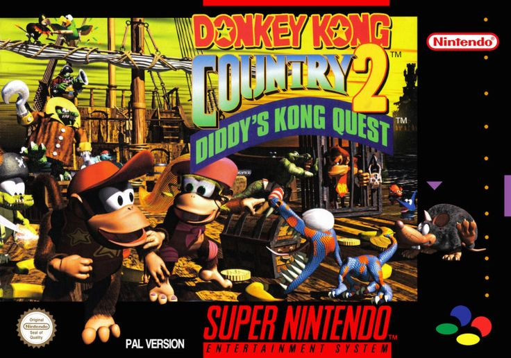 Donkey Kong Country 2 - Super Nintendo - Acheter vendre sur Référence Gaming