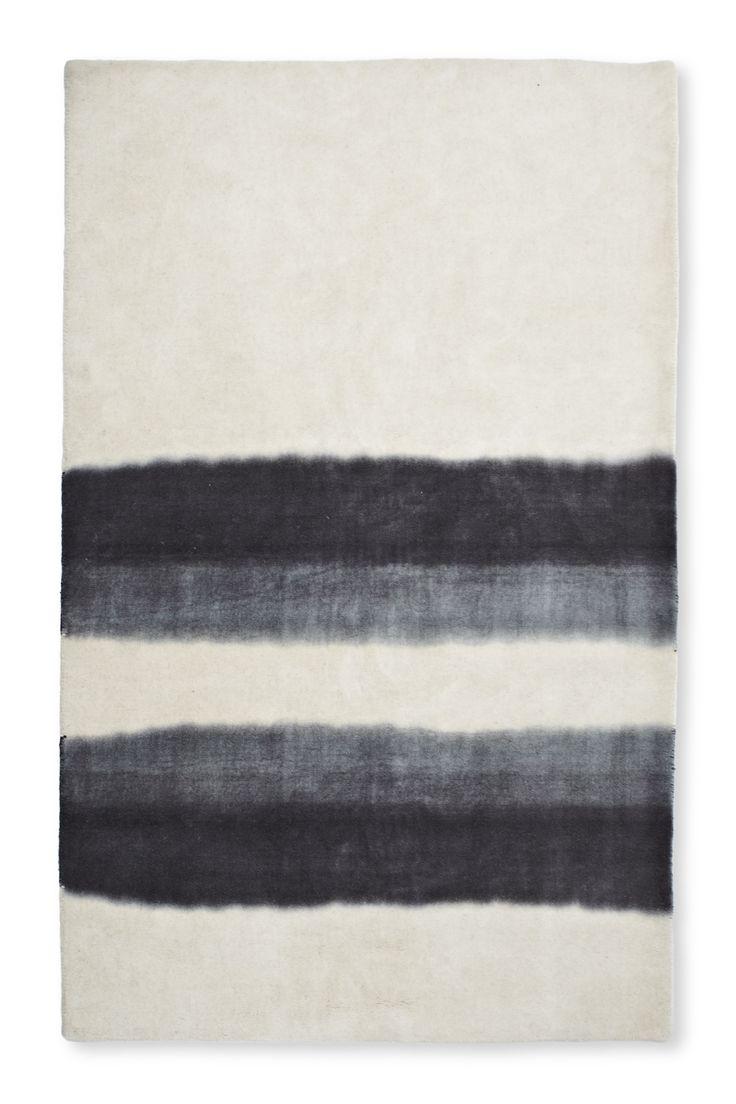 Wool Rug- Grey Gradient