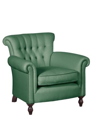 """""""Buttoned Library Chair"""" von George Smith, um 2320 Euro."""