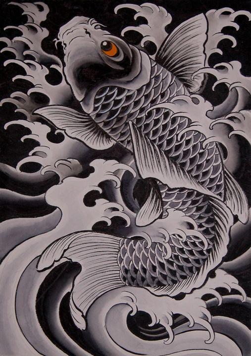 42 best irezumi images on pinterest tattoo designs for Japanese koi fish wholesale