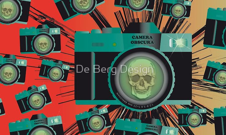 Camera Obscura - Art Phone Wallet - by De Berg Design