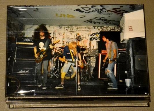 Foto de Nirvana en sus primeros años