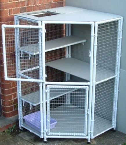 1000 Ideas About Cat Cages On Pinterest Outdoor Cat