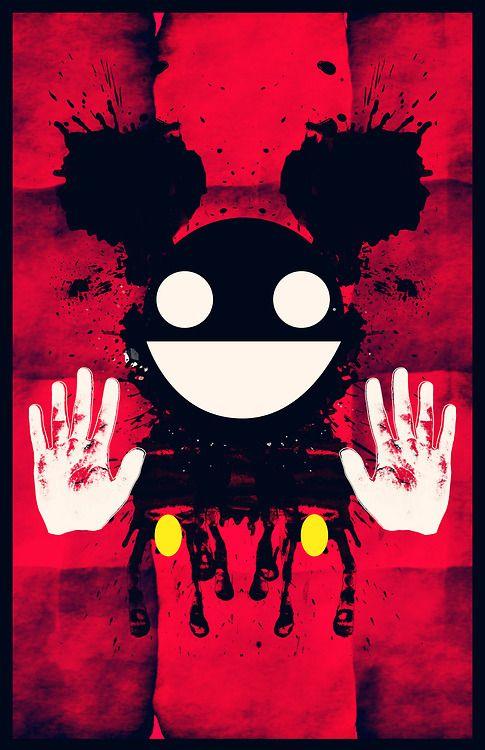 Deadmau5 Red Mau5 Art