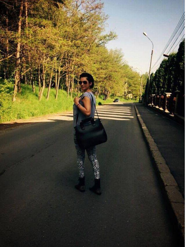 Actrita Nicoleta Luciu a ales geanta Irene  http://www.adona.ro/geanta-irene.html