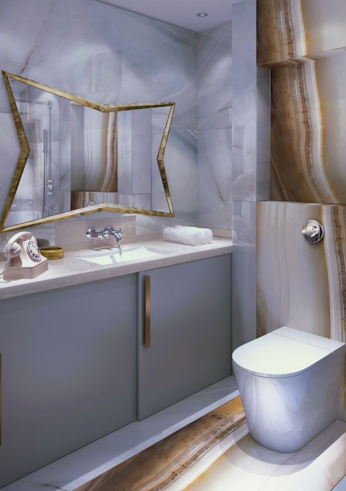 Крошечная студия 29,8 м2 в Сочи от Олега Перепадя - Дизайн интерьеров   Идеи вашего дома   Lodgers
