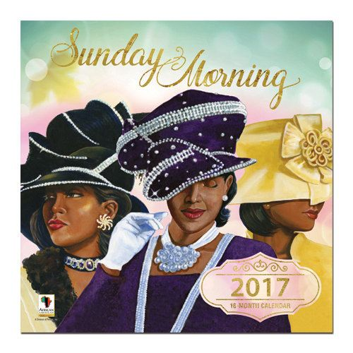 Sunday Morning 2017 Wall Calendar by DDBProductions on Etsy