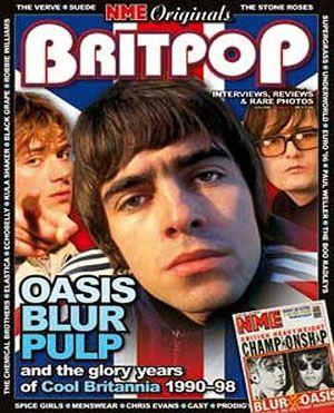 Britpop - track tops, mod tshirts, cords, flared jeans, airtex tshirts, greenflash.  Mad fer it!