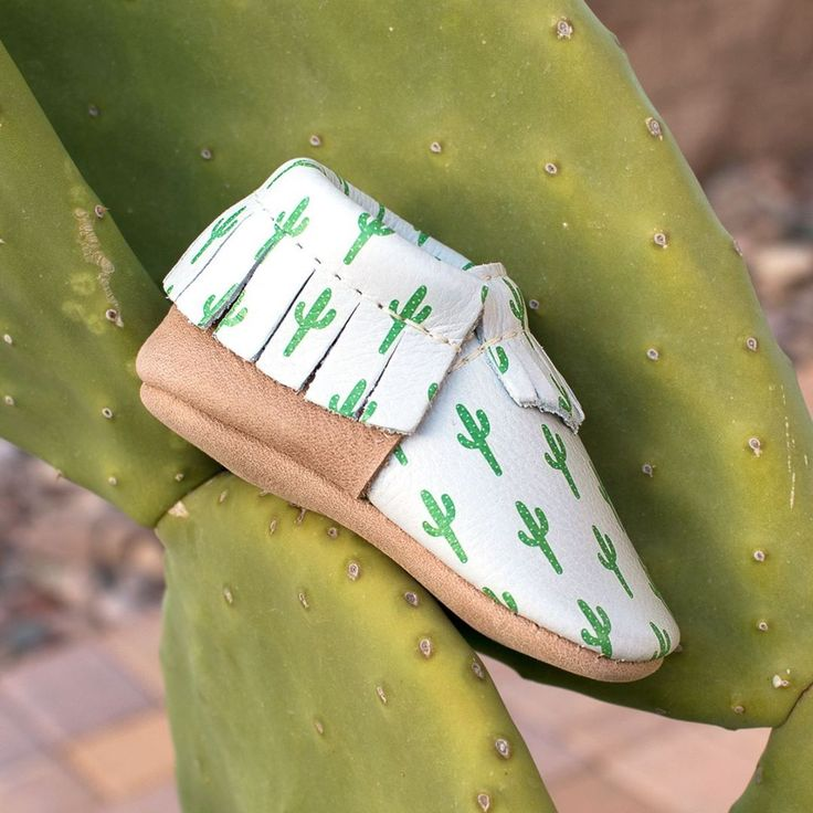 Party in the front and business in the back? Cactus Moccs!