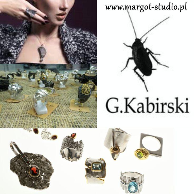 Biżuteria Germana Kabirskiego - bogata oferta w naszym sklepie i galerii www.margot-studio.pl/sklep