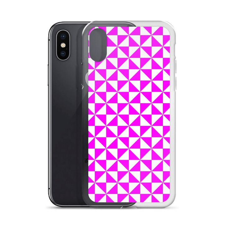 Excited to share the latest addition to my #etsy shop: Purple Triangles iPhone X Case   Repetitive Pattern iPhone case   Colorful iPhone 6 case   Trendy iPhone 7 case   Geometry iPhone 8 case http://etsy.me/2op1PJd #accessories #case #cellphone #iphonexcase #repetitive