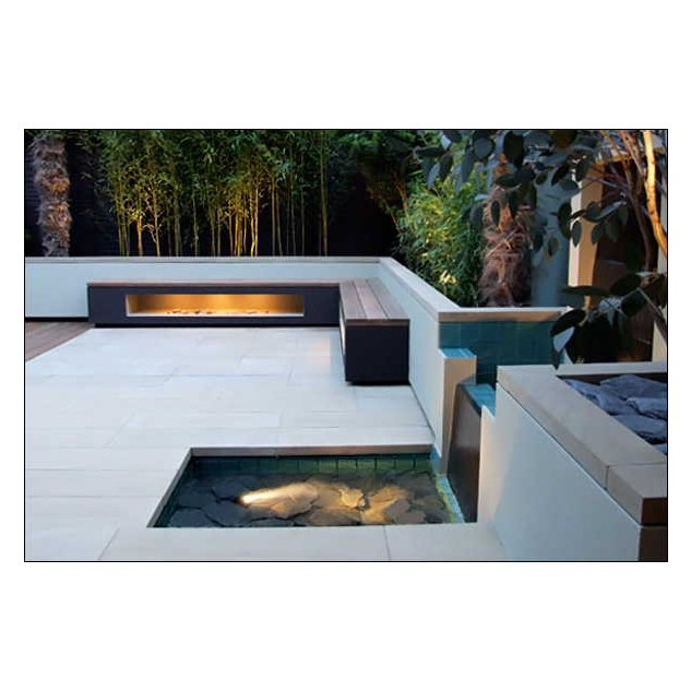 modern gardens and patiosLove the clean lines against the foliage