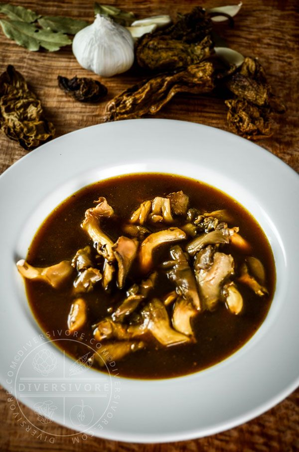An amazing, distinctive, vegan soup from Veracruz Mexico.