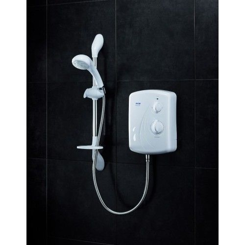 Electric-Shower-Bath-Wall-Mounted-Economic-Device-Bathroom-Water-Unit-9-5KW-New