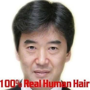 Natural Black Men's Toupees 100% Human Hair Fashion Short Man - Brought to you by Avarsha.com