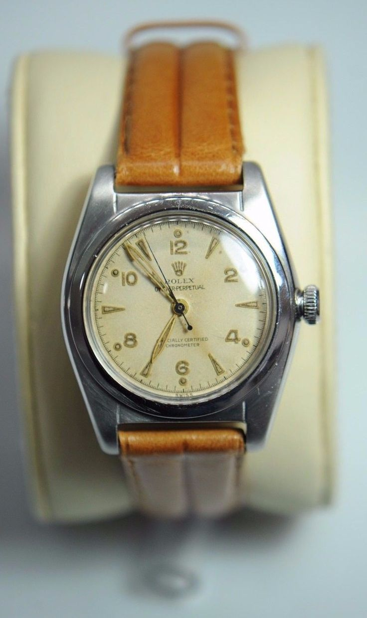 #Forsale Vintage #Rolex 2940 Bubble Back Stainless Steel 32mm Automatic Watch - Price @$856.00