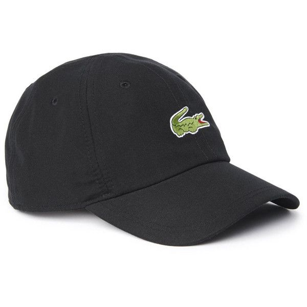 6fecc000f603 Lacoste Men's Poly Sport Cap with front Croc ($30) ❤ liked on Polyvore  featuring mens, men's accessories, men's hats, accessories,…