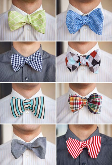 Fun Looks for Bow Ties | #bow #ties