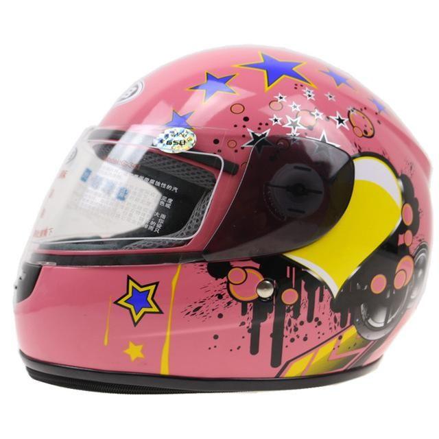 GSB toddler motorcycle helmet ABS shell kids helmet size for 48-54cm head