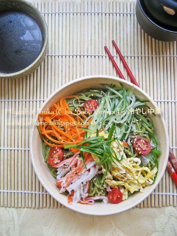 Hiyashi Chuka- Japanese Cold Noodles