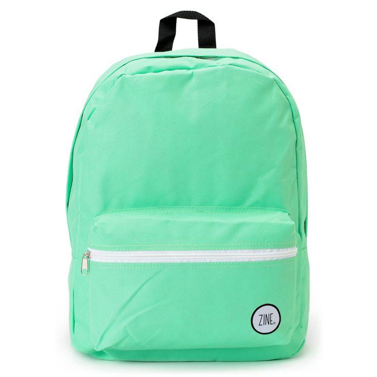 Zine Girls Neon Mint Backpack at Zumiez : PDP