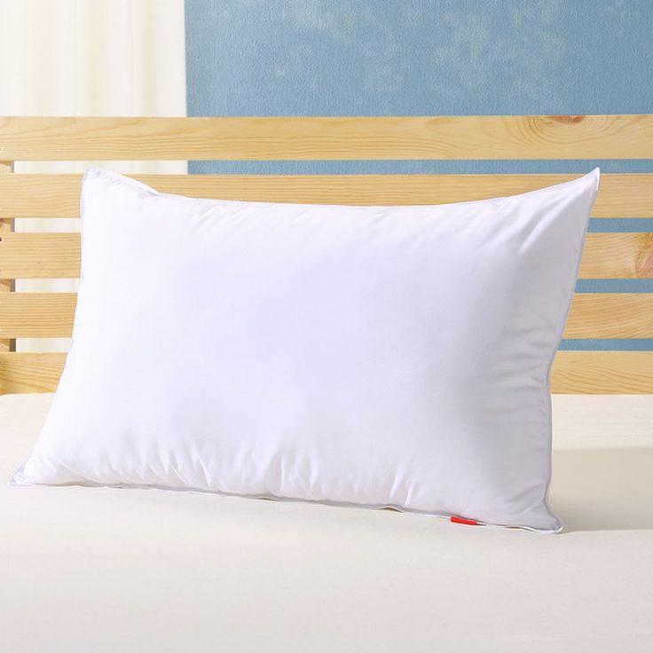 single pillow 90 white goose down pillow inches white filled 22 oz