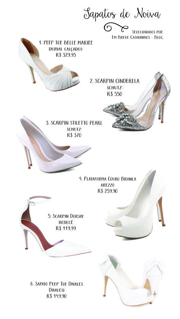 Onde comprar sapato de noiva online