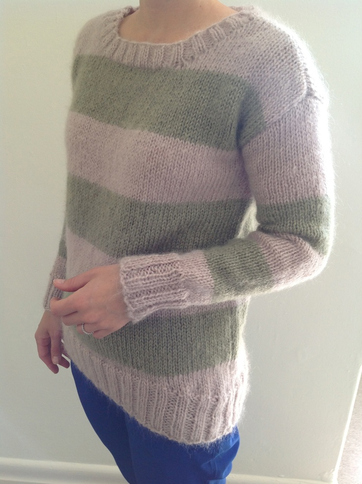 Cleckheaton Knitting Patterns Free : Cleckheaton Striped Jumper Pattern Book 974 Our Knits Pinterest Jumpers...