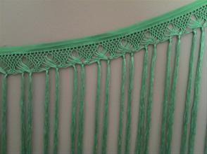 tira flecos para coser al escote del traje de flamenca desde MANTONES TERE FLAMENCA