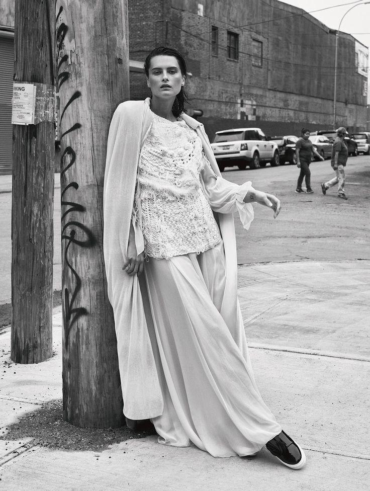 Elena Melnik by John Akehurst for Glamour Germany January 2017