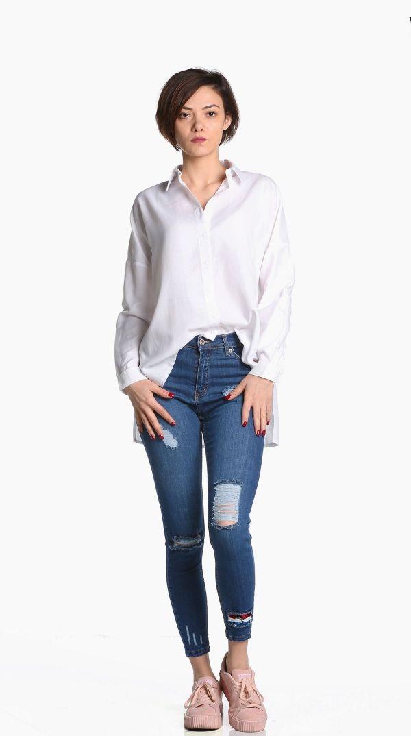 cd0f0e64f1cfb Beyaz gömlek 197520 - Kapıda Ödemeli Ucuz Bayan Giyim Alışveriş Sitesi  ModiVera #beyazgömlek #beyaztunik #kadıngiyim #k… | Gömlek Modelleri Yeni  Sezon ...
