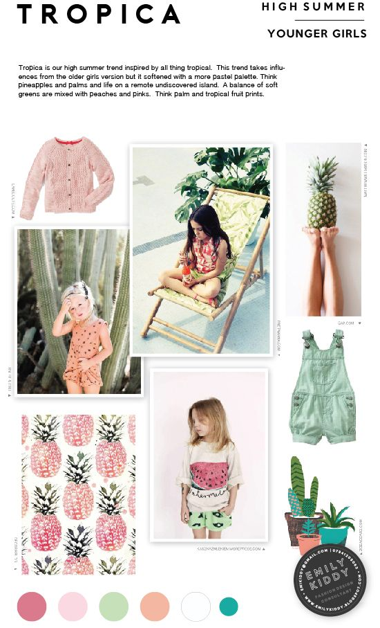 Spring | Summer 2017 - Tropica - Younger Girls