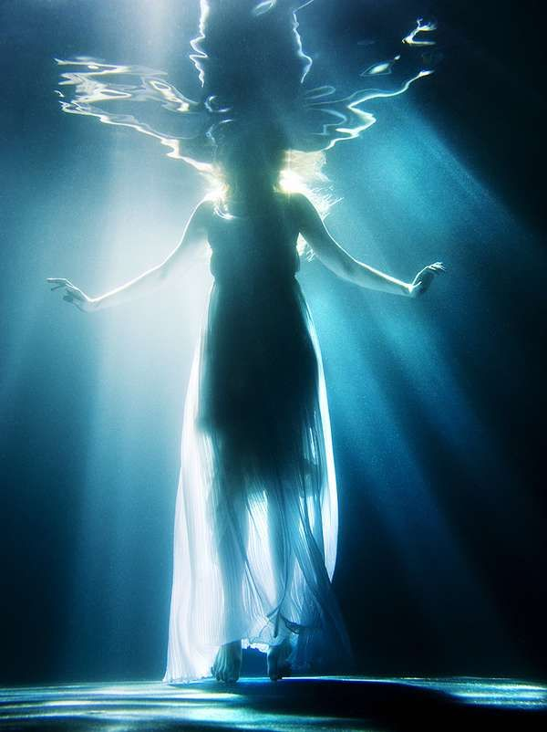 amazing under water shoot