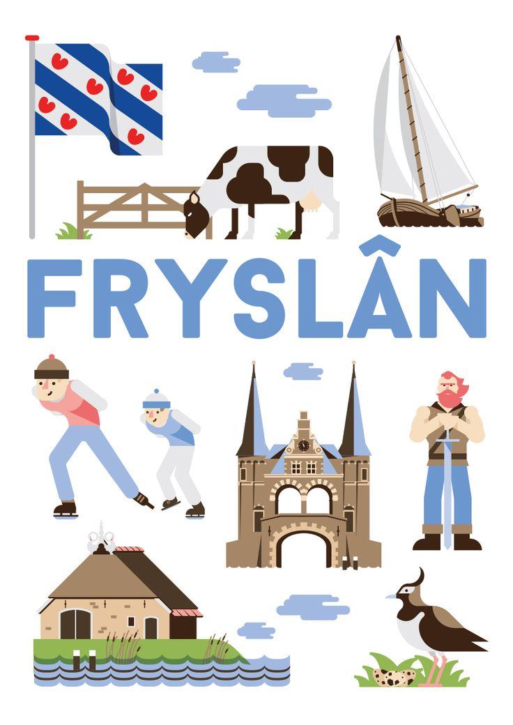 Als kunstposter koop op: https://www.catch-online.nl/kunstenaars/jochem-coenen #Fryslan #poster #Holland #Friesland