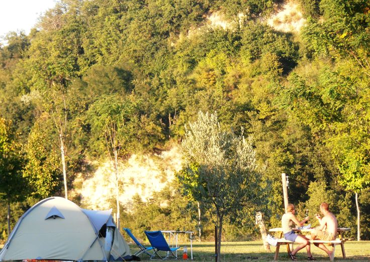 Campsite Agricamp Picobello; great place to pitch