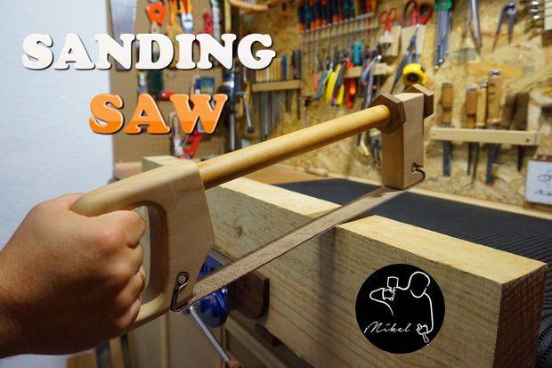 Sanding Saw: 9 Passos (com imagens)