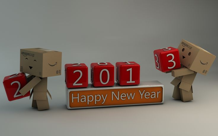 Danbo Happy New Year 2013 by ~Dracu-Teufel666 on deviantART