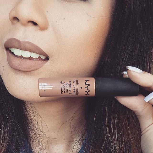 Loving this Soft Matte Lip Cream Color : Abu Dhabi .  @nyxcosmetics