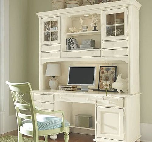 1000 ideas about desk hutch on pinterest computer desks desk with hutch and desks chic office desk hutch