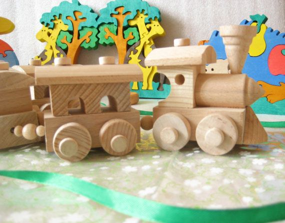 13 Best Small Wooden Trains Images On Pinterest Wood