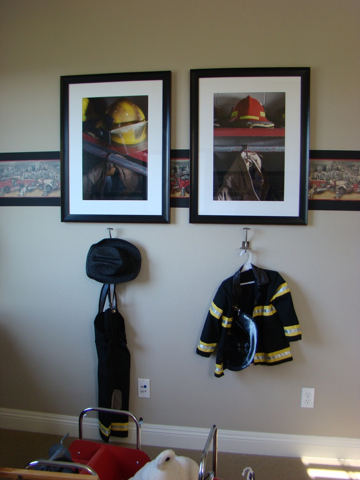 82 Best Images About Firefighter And Police Bedroom Ideas On Pinterest Fire Truck Nursery