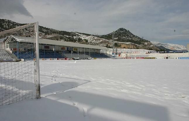 Campo del Collao nevado