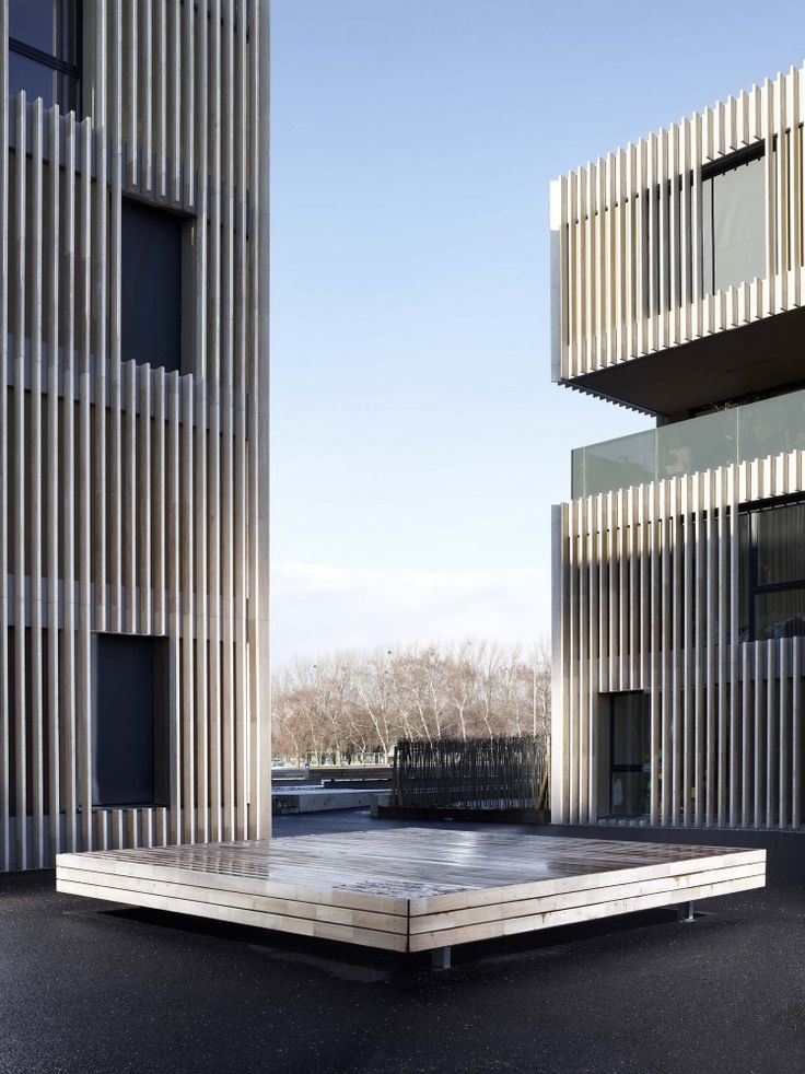 433 best PERForated images on Pinterest Metal facade, Architecture - calcul surface facade maison
