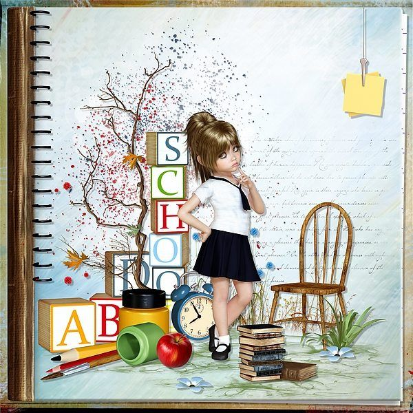 School by Bel Scrap