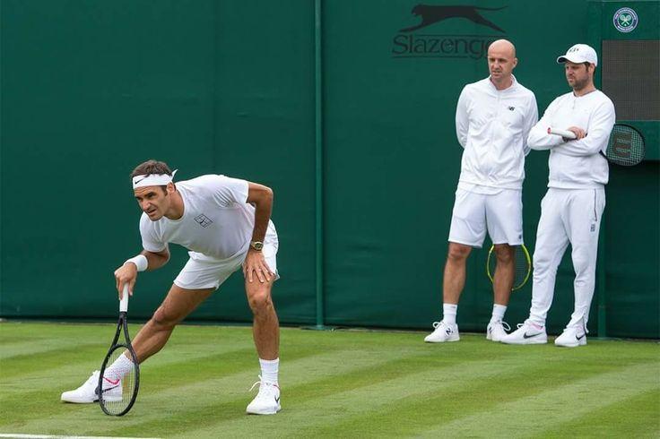 Wimbledon practice 2017