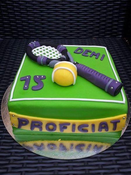Foto van de week (week 29 2013): Tennis Taart gemaakt door Bianca Petiet-Kievit