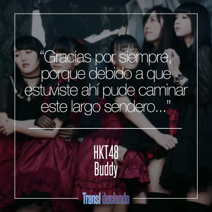 Canción traducida: HKT48 - #Buddy | #Shekarashika #JPop Encuentra la letra completa en: http://transl-duciendo.blogspot.com.co/2016/07/hkt48-buddy-companero.html